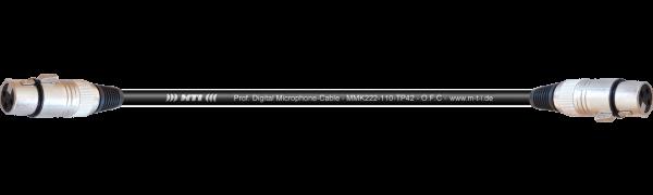 MTI Digital Audio-Adapter, XLR-fem./fem. 3p., 0,3 m