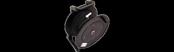 MTI Digital Micro-Cable, XLR-fem. im Kern/XLR-male 3p., Trommel