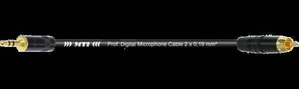 MTI Digital Audio-Adapter, Mini-Kl. 3p., Cinch-St.gold, 0,3 m