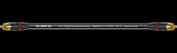 SOUND-SUPREME Patch-Cable, Neutrik Cinch Goldkte.
