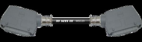 Multicore-Kabel HAN64 fem./fem. seitl., 20Ch.
