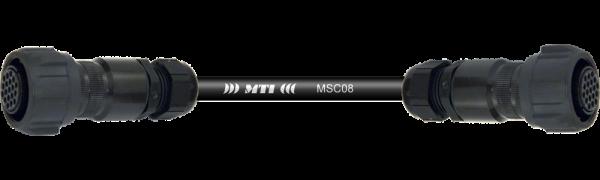 Multicore-Kabel TL19 fem./fem., 6Ch.