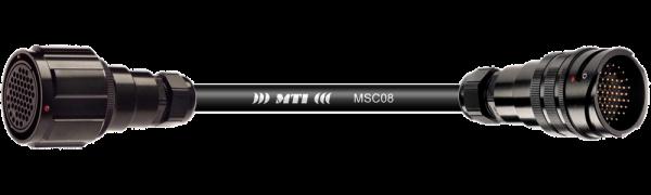 Multicore-Kabel TL25 fem. m.Ü./male o.Ü., 8-Ch.