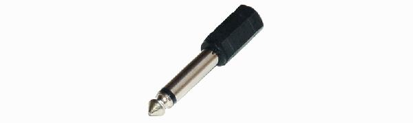 MTI-Adapter, Minikl.-Buchse 2p./Kl.-Stecker 2p.