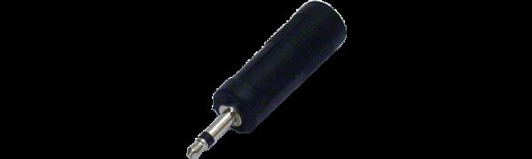 MTI-Adapter, Klinkenbuchse 2p./Minikl.-Stecker 2p.