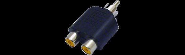 MTI-Adapter, 2xCinchbuchse/1xCinchstecker