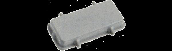 Abdeckkappe, 16B, ohne 2 Kl., Kunststoff