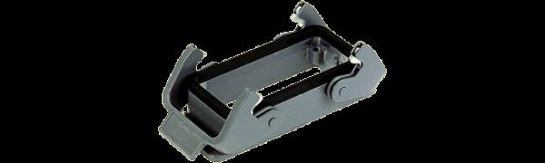 Anbaugehäuse 24B, mit 2 Klammern