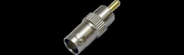 MTI-Adapter, BNC-Buchse/Cinchstecker