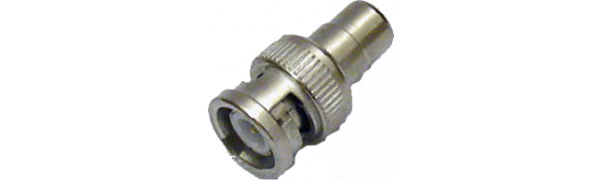 MTI-Adapter, BNC-Stecker/Cinch-Buchse, 75 Ohm