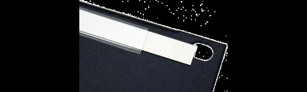 MTI Kunststoff-Beschriftungsstreifen 19''