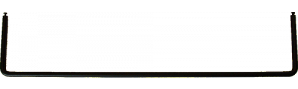 MTI Metall-Loetabbindebuegel für MPB-Panel, schwarz