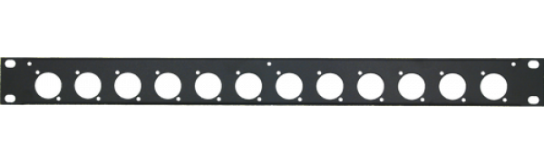 MTI Patch-Panel, 12 Bohrungen - D-Serie