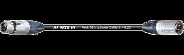 MTI Digital Audio-Adapter, XLR-fem./male 3p., 0,2 m