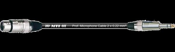 MTI Digital Audio-Adapter, XLR-fem./Klinke 3p., 0,2 m