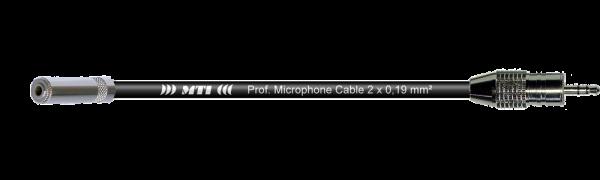 MTI Digital Audio-Adapter, Mini-Kl.-Bu./Mini-Kl.3p.sw.gold, 0,2 m
