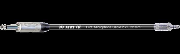 MTI Digital Audio-Adapter, Klinke 2p./Mini-Kl.3p., br., 0,2 m