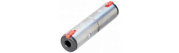 Neutrik Adapter, 2x Klinkenbuchse 3p.