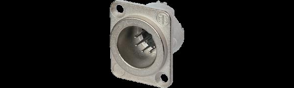 Neutrik XLR-7p.,Einbaustecker, D-Serie