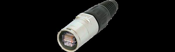 Neutrik RJ45 Kabelstecker-Chasis, Neumontage, Nickelfinish