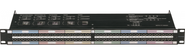 NEUTRIK Bantam-Patch-Panel, 2x48 TT, Lötanschluß