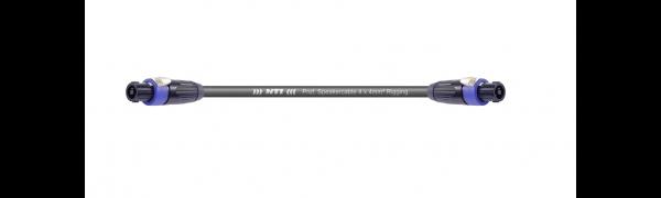 MTI Speakercore, 4x 4mm², Rigging, Speakon 4pol., Metall, schwarz