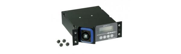 Neutrik opticalCON 2CH powerMONITOR, Single Mode, QUAD Front, DUO Rear