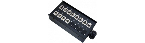 Stagebox 8x XLR-fem./4x XLR-male, TL37 male