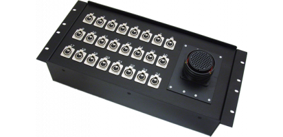 19''-Stagebox 24x XLR-fem., TL85 male