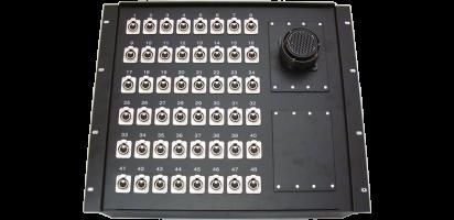19''-Stagebox 48x XLR-female, 2x TL150p. male