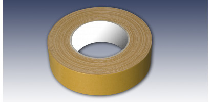 PVC-Teppich-Verlegeband, doppelseitig 38 mm x 25 m