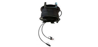 MTI/BELDEN CAT5e-Kabel, Ethernet/RJ45 Verriegelg.-Geh., TrommelWickelkopf, 80,0 m