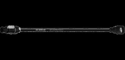 Lastverbindung, Schuko St. Gummi/PowerCon True1-TOP out., 3x 2,5 mm²
