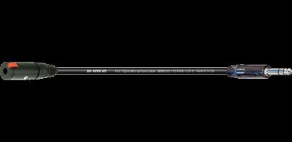 MTI Digital Micro-Cable, Kl.-Buchse/Klinke 3p. schwarz