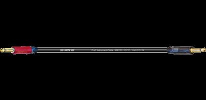MTI Instr.-Cable TP7022, Neutrik Silent-Kl./Klinke, Goldkte., sw.