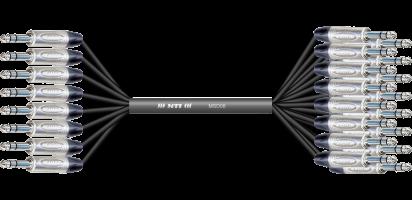 MTI First Class Analog-Loom, 8x Klinke/16x Klinke 3p., 8/16 Ch.