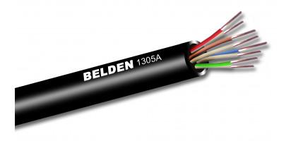Belden Prof. CAT5e Datenleitung, PVC - AWG.24, schwarz