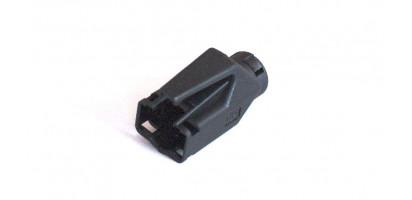 MTI-RJ45-Staubschutztülle für Hirose RJ45, schwarz