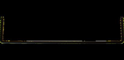 MTI Metall-Loetabbindebuegel für MPB-Panel 4,5 mm Tiefe, schwarz
