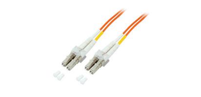 MTI Duplex Adapterkabel LC-LC 50/125µ OM2, 1,0 m