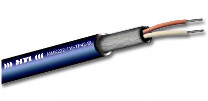 MTI Prof. Digital Micro-Cable, 1x2x0,22 mm², 110 Ohm, blau - 500m Trommel