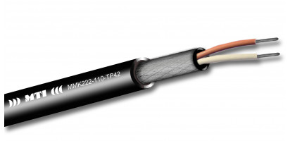 MTI Prof. Digital Micro-Cable, 1x2x0,22mm², 110 Ohm, sw, 100m Trommel