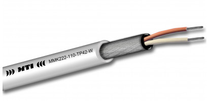 MTI Prof. Digital Micro-Cable, 1x2x0,22mm², 110 Ohm, weiß, 100m Trommel