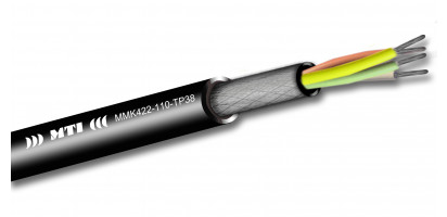 MTI Prof. Digital Micro-Cable, 1x4x0,22mm², 110 Ohm AES, sw, 100m Trommel