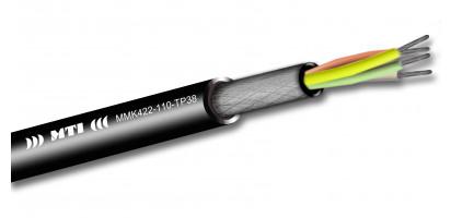 MTI Prof. Digital Micro-Cable, 1x4x0,22mm², 110 Ohm AES, sw, 500m Trommel