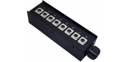 Stagebox 8x Neutrik XLR-male 3p., Tourline TL25p. male