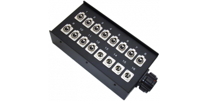 Stagebox 12x XLR-fem./4x XLR-male, TL54 female