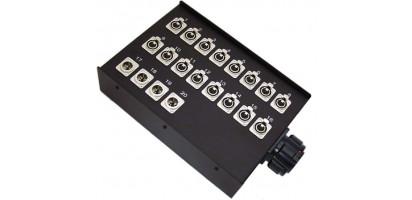 Stagebox 16x XLR-fem./4x XLR-male, TL85 female