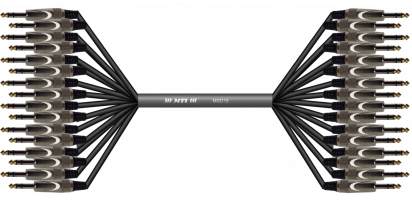 MTI First Class Analog-Loom,MTI Klinke/Klinke 3p.,16Ch.