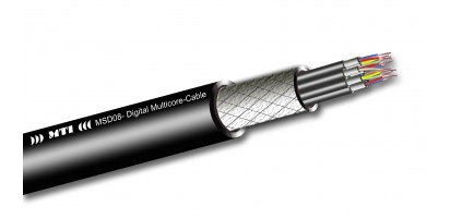 Digital Multicore, 08x 2x 0,14 mm², 110 Ohm